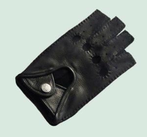 27064 (ПО01) Перчатки автомобилиста, натуральная кожа оленя, р-р 8.5, черн.