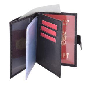 Обложка для паспорта и прав + отдел для денег