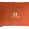 Подушка декоративная из красного велюра HYUNDAI