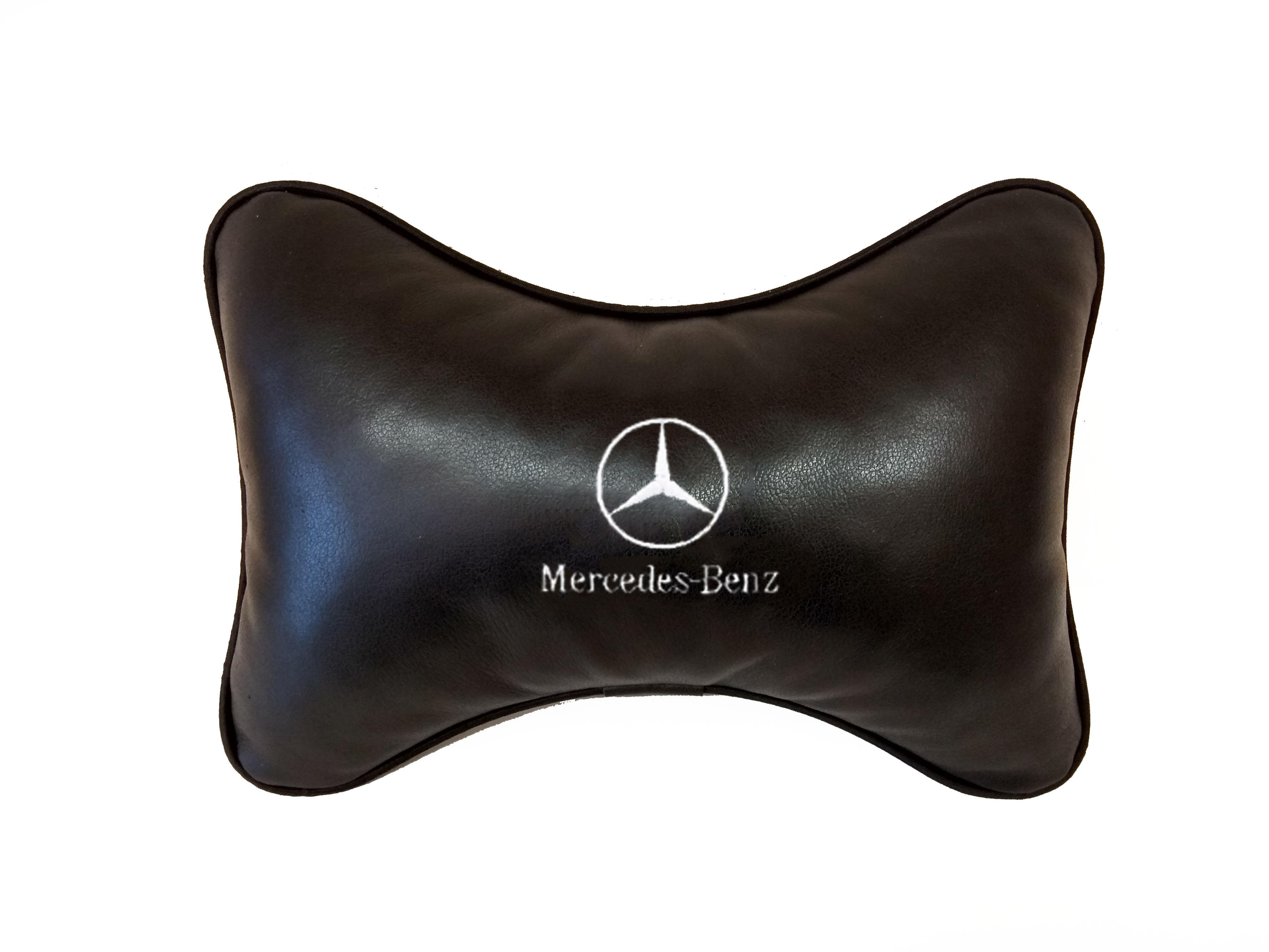 Подушка на подголовник из натуральной кожи MERSEDES-BENZ