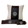 Подарочный набор (подушка декоративная+накладки на ремень безопасности+ ключница), VOLKSWAGEN