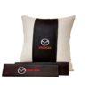 Подарочный набор (подушка декоративная+накладки на ремень безопасности), MAZDA