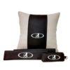 Подарочный набор (подушка декоративная+накладки на ремень безопасности+ ключница), LADA