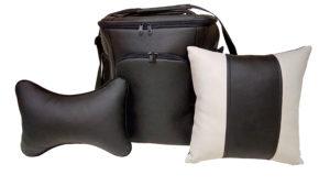 Подарочный набор (термосумка 20л, подушка на подголовник, декоративная подушка), без логотипа