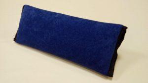 Накладка-подушка на ремень безопасности, синяя (в упаковке 1 шт)