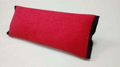 Накладка-подушка на ремень безопасности, красная (в упаковке 1 шт)