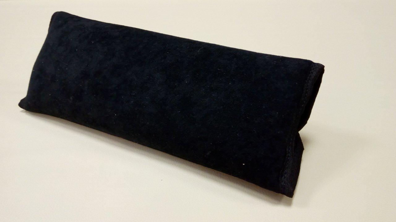 Накладка-подушка на ремень безопасности, черная (в упаковке 1 шт)