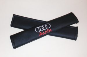 Накладки на ремень безопасности из экокожи (2шт.) AUDI