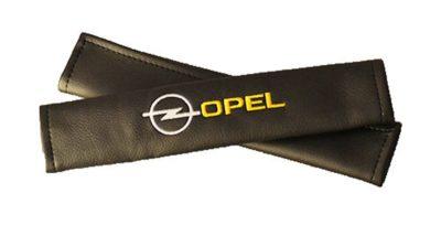 Накладки на ремень безопасности из экокожи (2шт.) OPEL