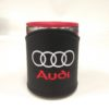 Термокружка в чехле из экокожи с логотипом AUDI