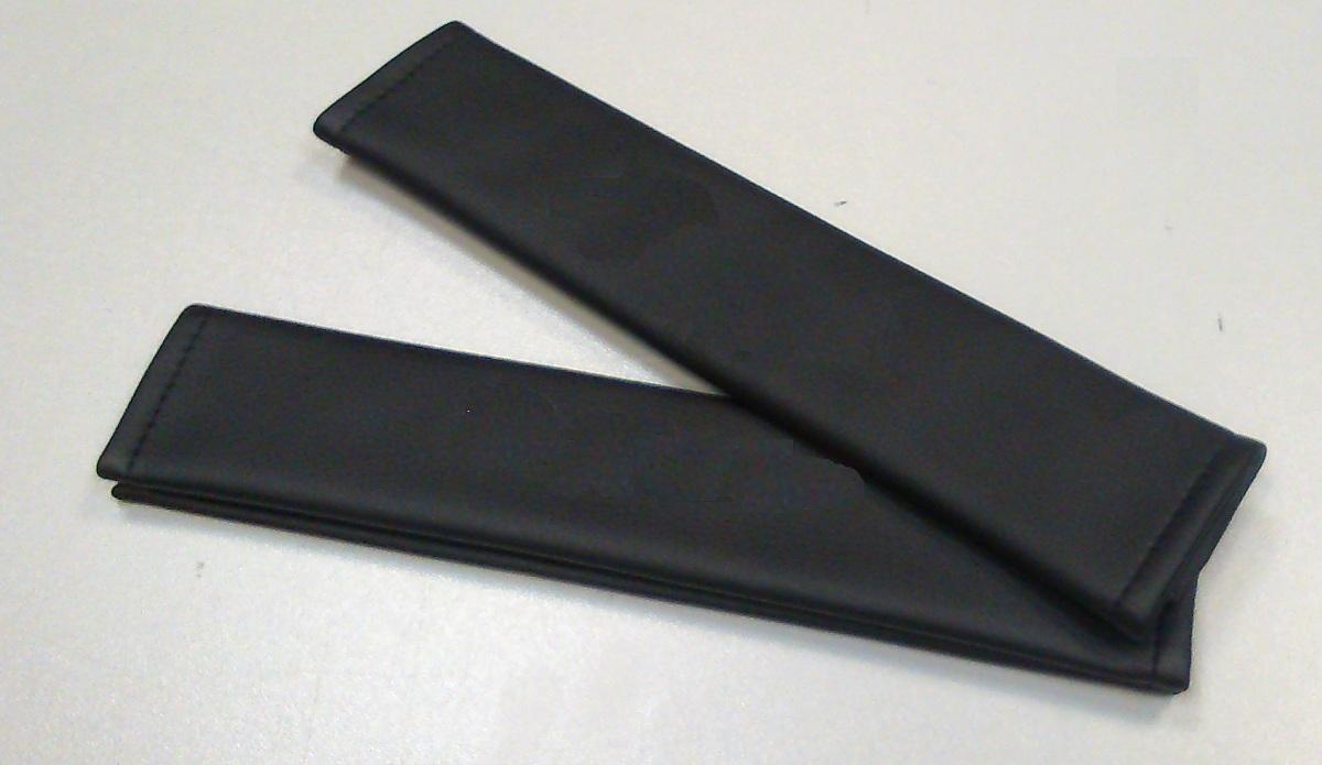 Накладки на ремень безопасности из экокожи (2шт.) без логотипа