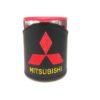 Термокружка в чехле из экокожи с логотипом MITSUBISHI