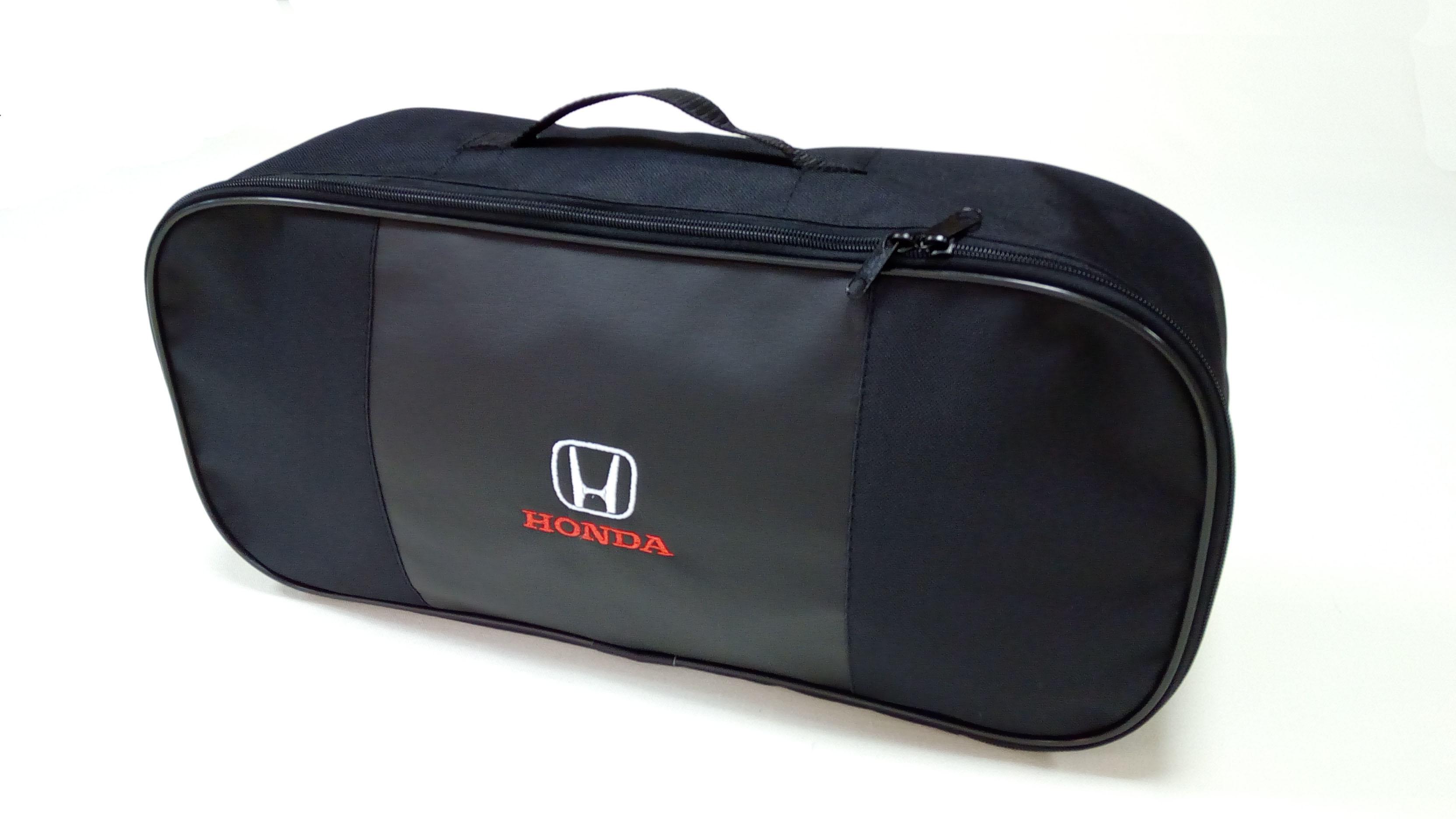 Сумка для набора техосмотра премиум со вставкой из экокожи Honda