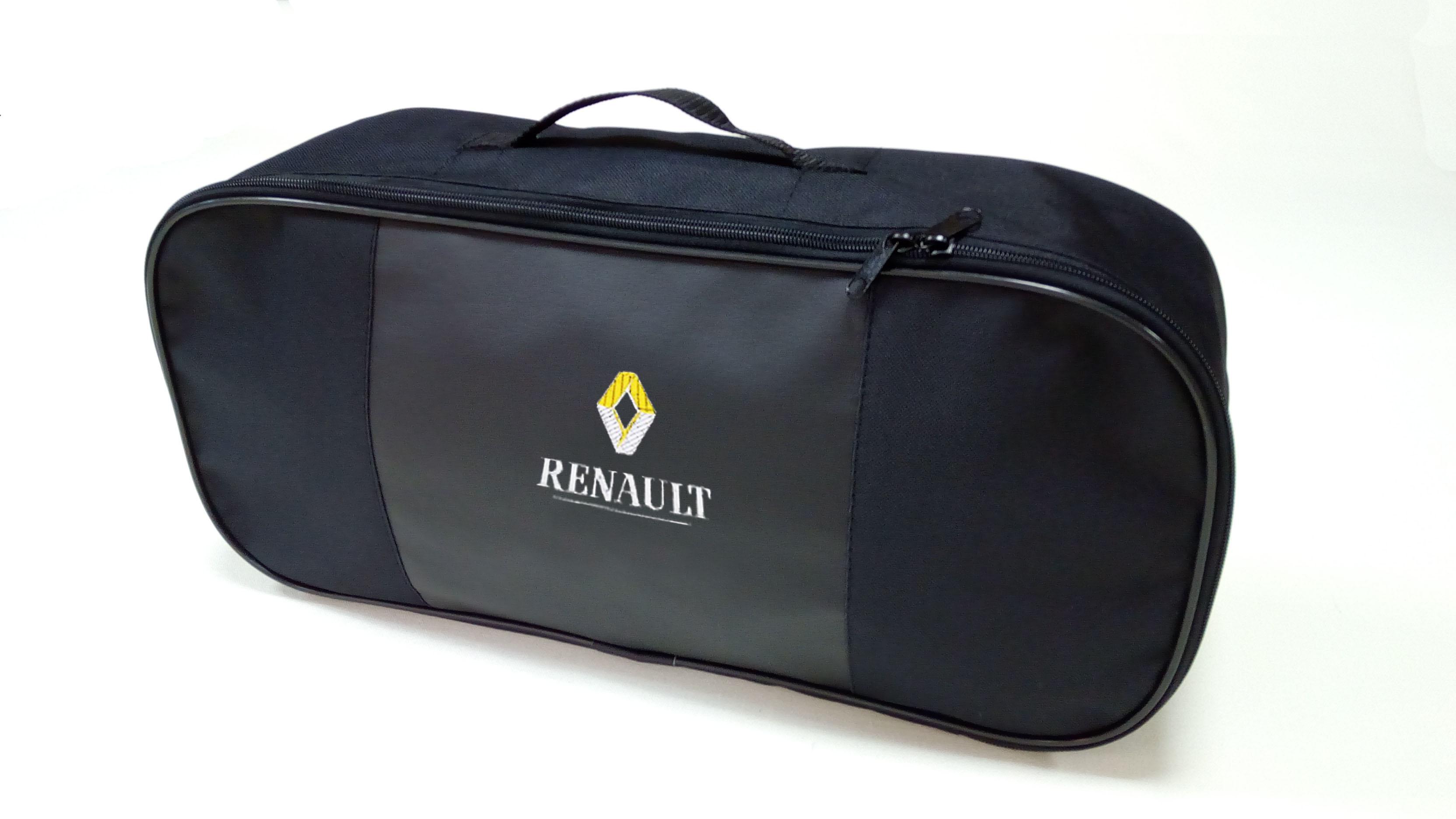 Сумка для набора техосмотра премиум со вставкой из экокожи RENAULT