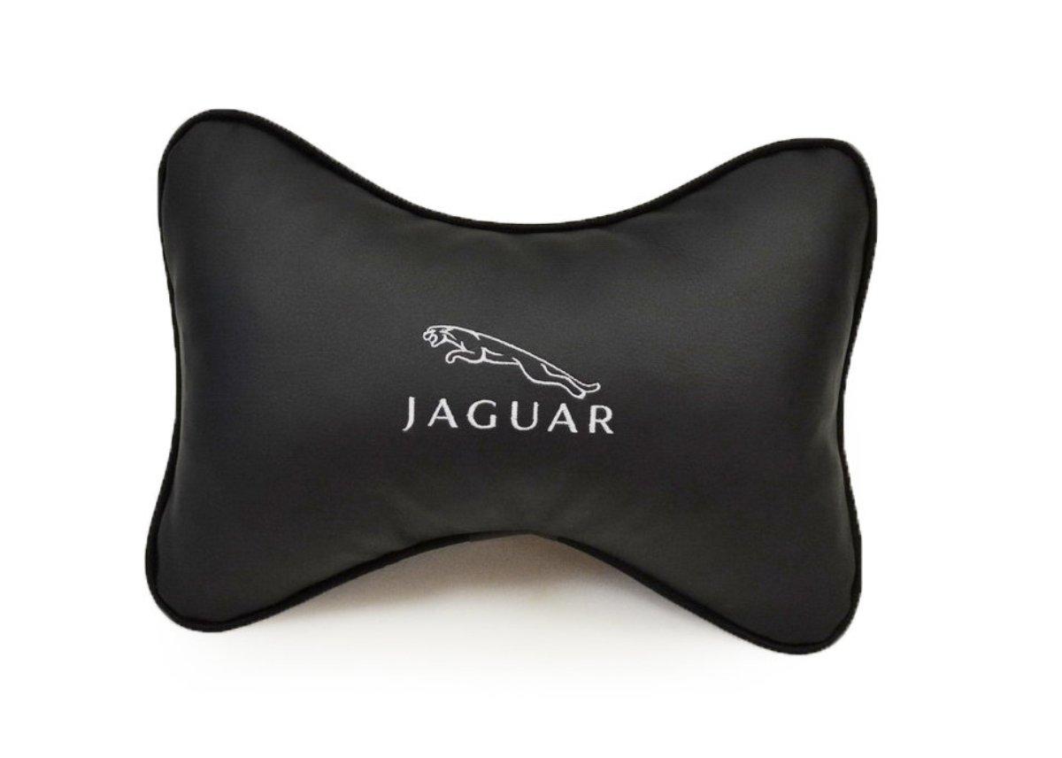 Подушка на подголовник из экокожи JAGUAR