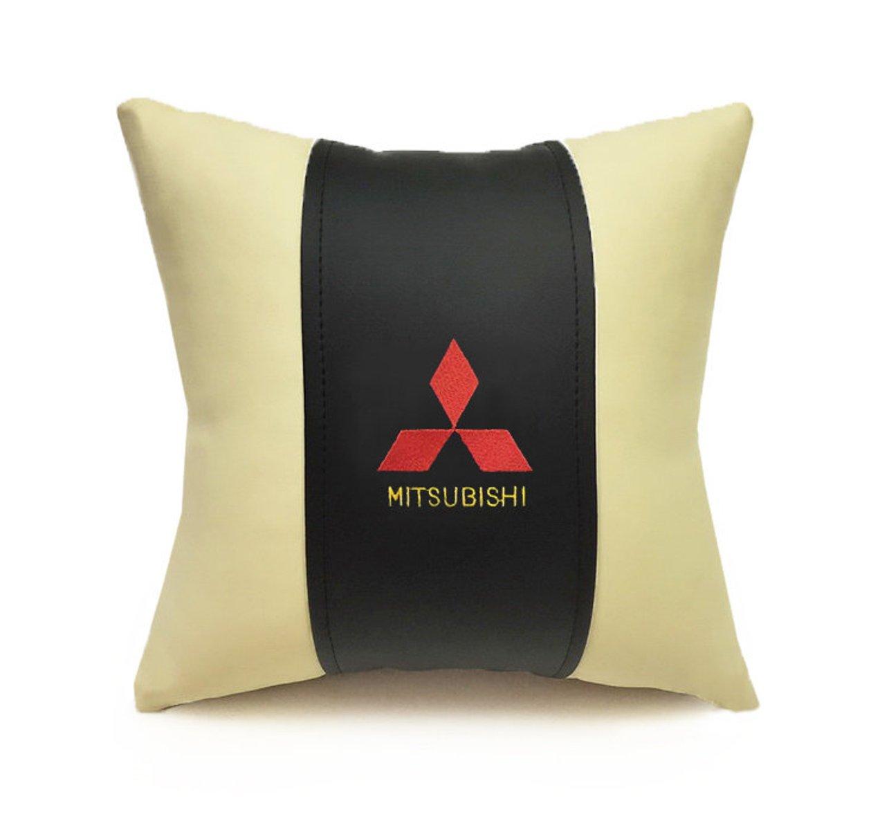 Подушка декоративная из экокожи MITSUBISHI