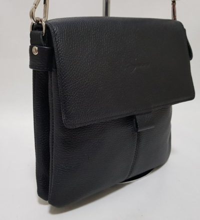 """27103 Мужская сумка планшет (арт.306) из натуральной кожи с тиснением """"флотер"""""""