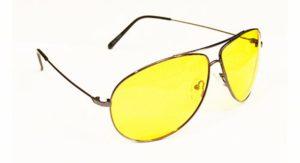 """Очки водителя """"Sun Drive"""" с жёлтыми поляризационными линзами"""