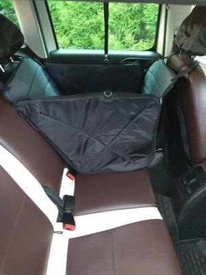 Гамак для перевозки животных на 1/3 сидения (защита для дверей+чехол на подлоговник+поводок)
